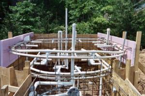 Pemipaan Jalur Inlet untuk Sistem Sirkulasi Air Kolam Renang