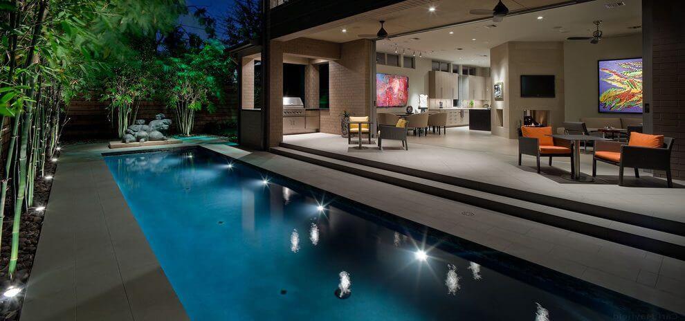 lampu kolam renang